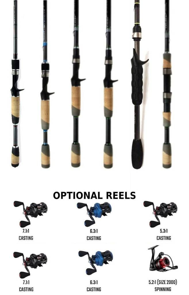 Bass Fishing 6 Rod System You Must Have These 6 Rods Reel Fishermen In 2021 Bass Fishing Bass Fishing Rods Fishing Techniques