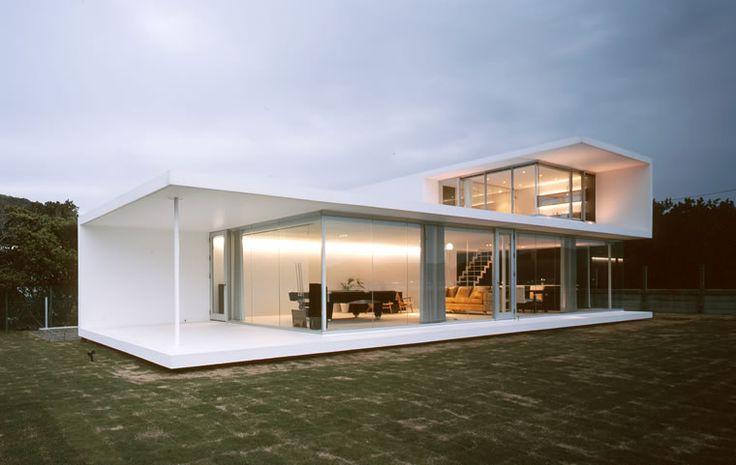 Menos es más. La arquitectura de casas minimalistas es un modelo que se está convirtiendo en una tendencia en la metrópoli. Concretamente, la que aparece en la foto es una obra de John Pawson.