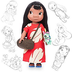 Disney Animators' Collection Lilo Doll - 16'' | Disney StoreDisney Animators' Collection Lilo Doll - 16'' - Little Lilo wants to share the island spirit of Aloha with you and your family. Celebrating the rich heritage of Disney Animation, this authentic Lilo doll was created under the guidance of <i>Lilo and Stitch</i> Supervising Animator Byron Howard.