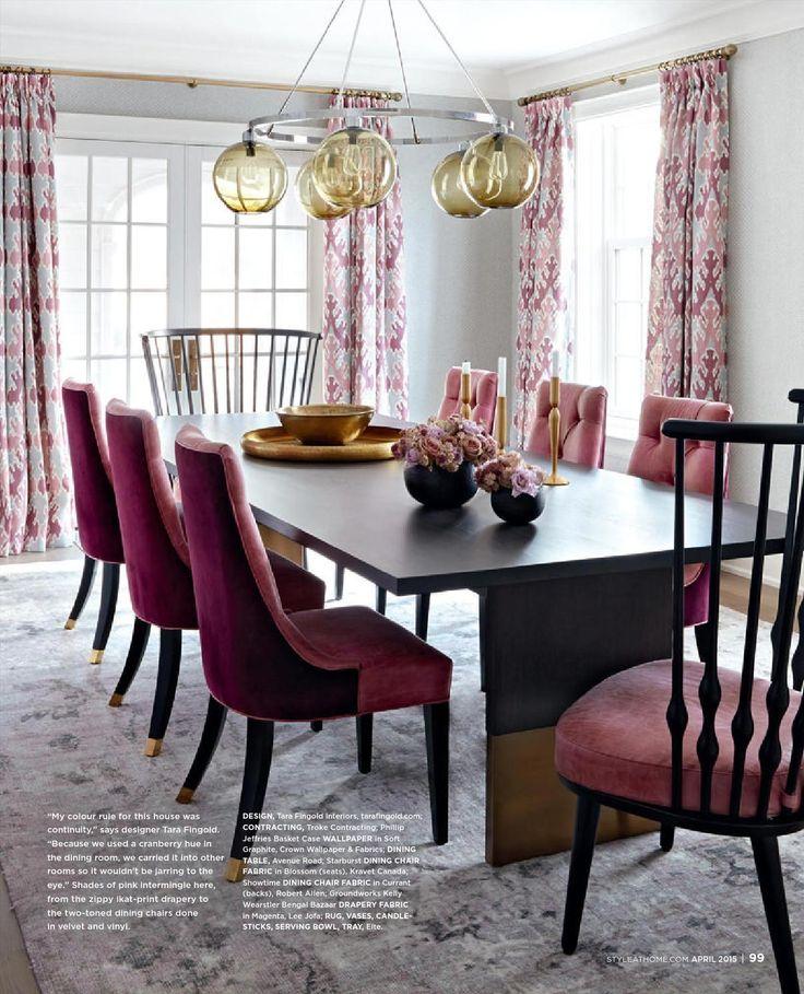 ClippedOnIssuu From 2015 04 Sah Pdf Dining Room ColorsDining DesignGeorgian