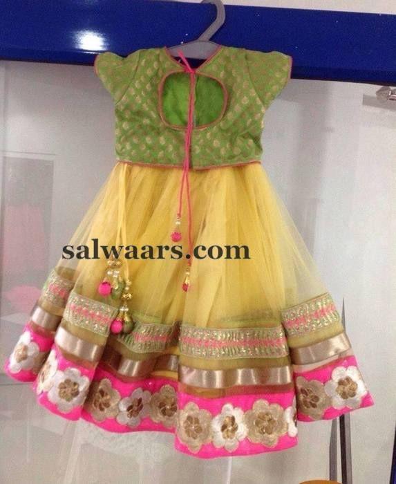 Light Lemon Yellow Lehenga | Indian Dresses
