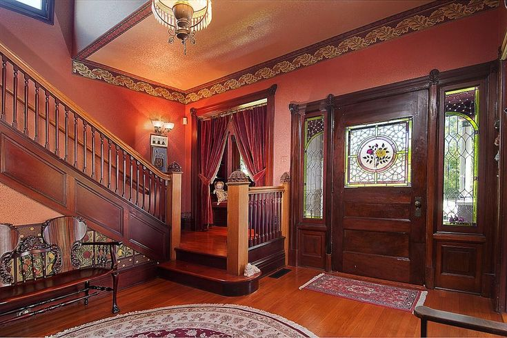Old Mansion Foyer : Old victorian houses inside world gothic and