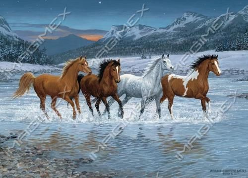 0921 by Persis Clayton Weirs | Horses | Imagimex - Beautiful Greeting Cards