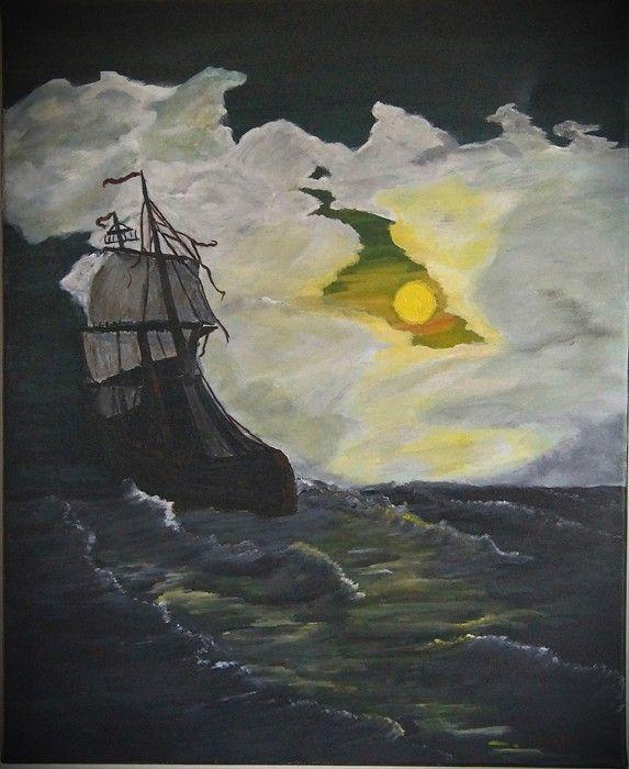 Χειροποίητος πίνακας ζωγραφικής σε τελαρωμένο καμβά, 45x55, ακρυλικό χρώμα Επισκεφτείτε την ιστοσελίδα www.viewofart.gr Handmade painting on stretching canvas, 45x55, acrylic color Visit our site www.viewofart.gr