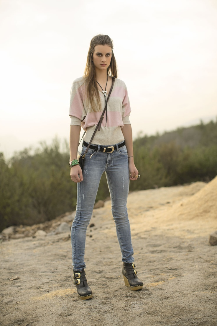 Jeans y calado - Pepe Jeans  #pepejeans