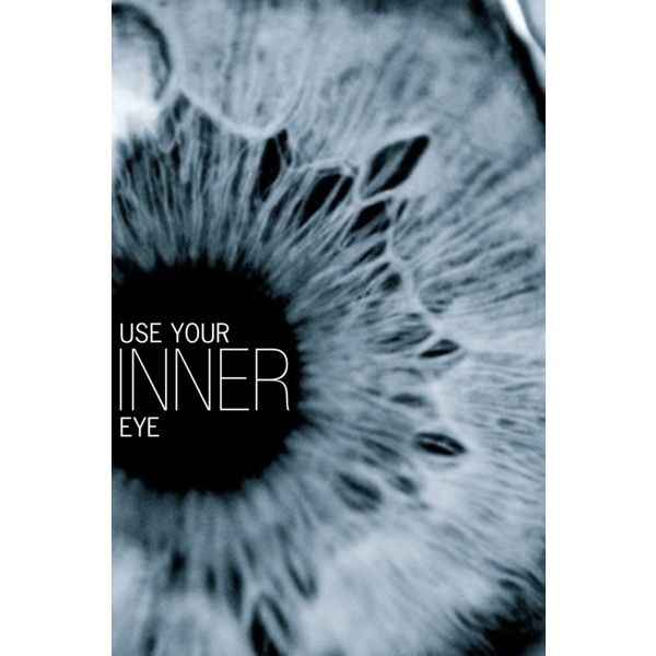 Use Your Inner Eye by becnellie on Polyvore featuring art