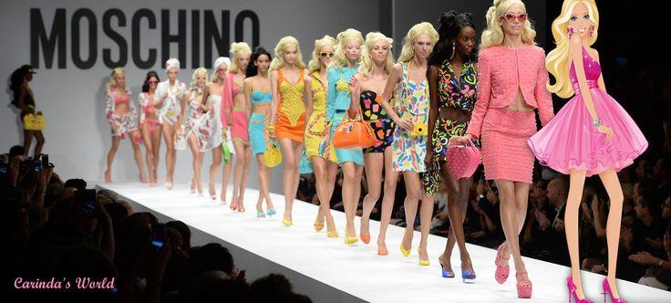 Primavera/Estate 2015 - Considerazioni sulla ribalta delle Barbie Girls di MOSCHINO | Carinda's World