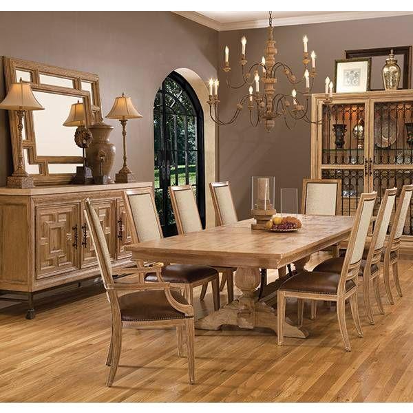 ancestry dining table fine furniture design star furniture houston tx furniture - Dining Room Furniture San Antonio