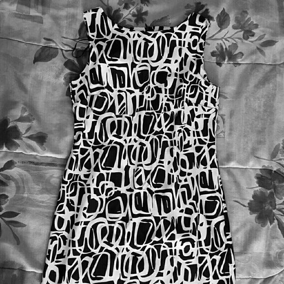 Black and white dress Cute flirty on the town special occasion dress AB Studio Dresses