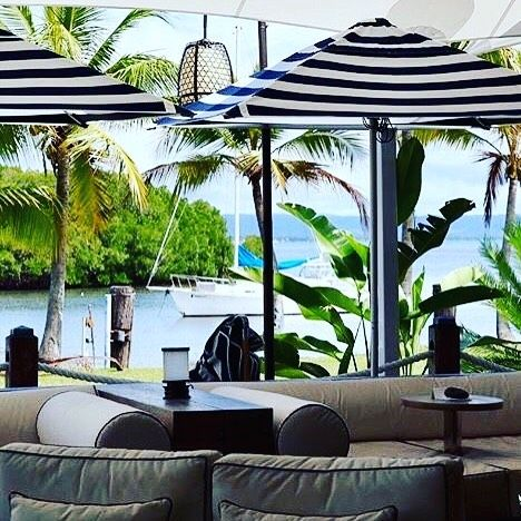 """68 Likes, 4 Comments - blog & accommodation (@awayinportdouglas) on Instagram: """"Barbados is the most stylish cocktail lounge in town. Located at the Marina and overlooking the…"""""""
