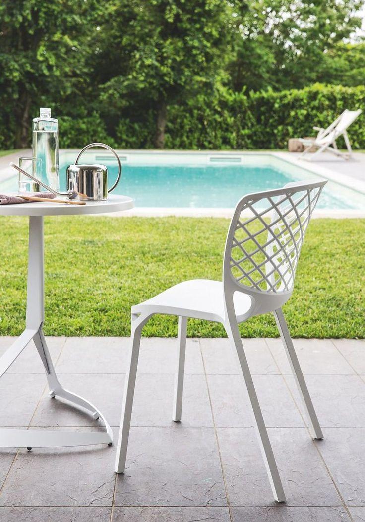 Die besten 25+ Gartenstuhl weiß Ideen auf Pinterest Gartentisch - liegestuhl im garten 55 ideen fur gestaltung vom lounge bereich