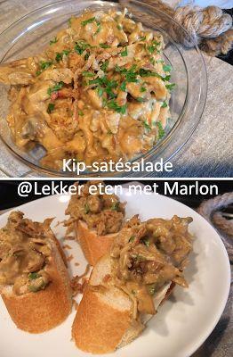 Voor op toast: kip-satésalade