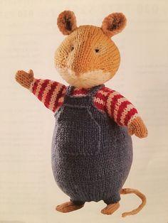 Alan Dart Brambly Hedge Toy Knitting Pattern in Crafts, Crocheting & Knitting, Patterns | eBay