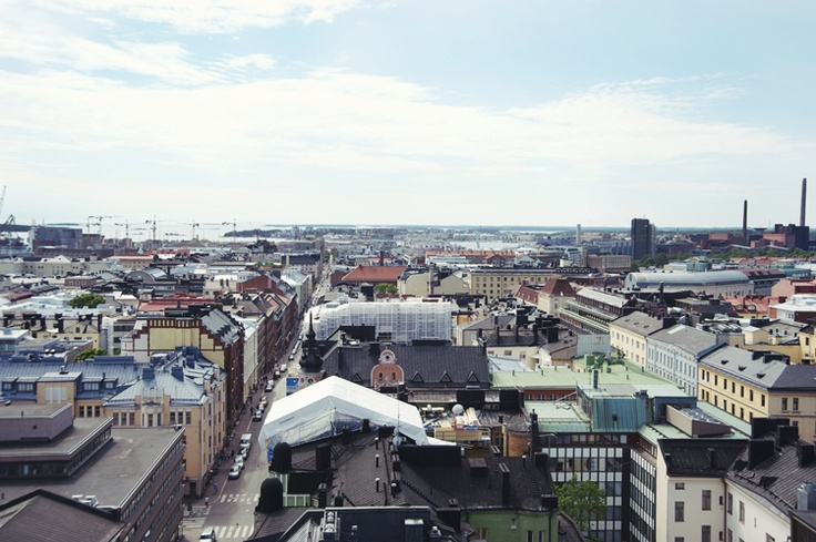Top of Helsinki, Finland #travel