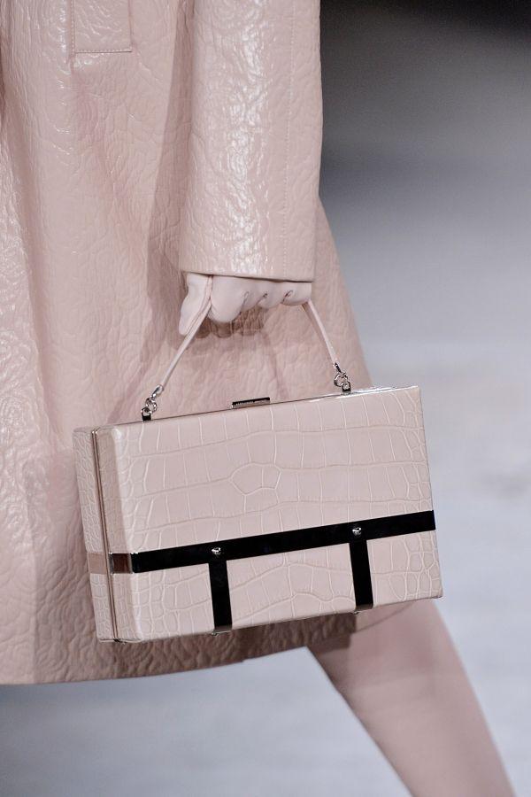 The Best Handbags From PFW |  Alexander McQueen - The Zoe Report