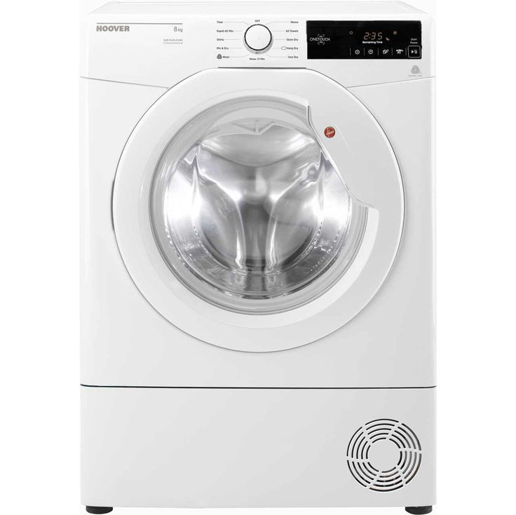 DXC8TG_WH | Hoover condenser tumble dryer | 8kg | ao.com