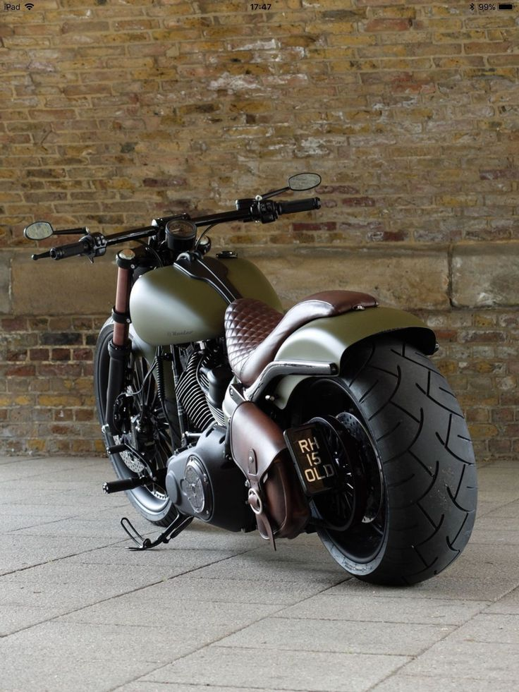 DIY Design Your Personal Bobber Motorbike