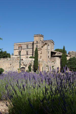 A Provençal Paradise- Chateau de Lourmarin- via Victoria Magazine