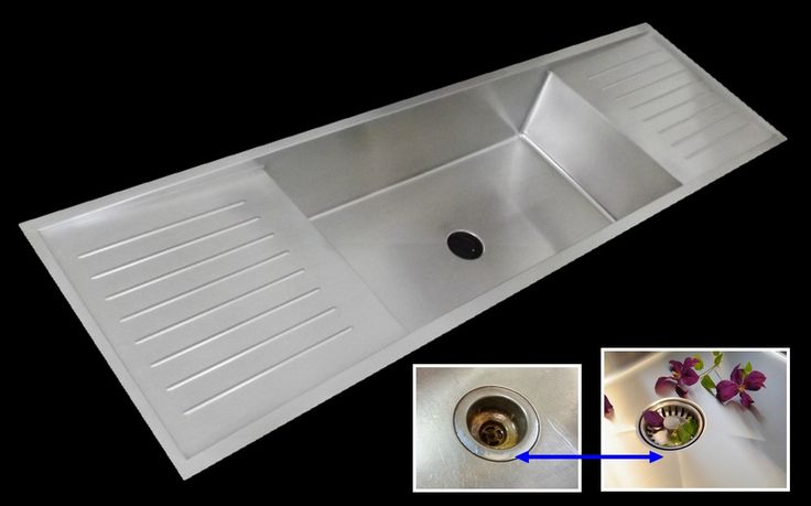 Double Drainboard Undermount Kitchen Sink with UltraClean Drain