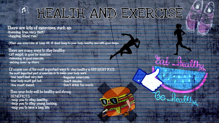 Emily y Andrea. HEALTH AND EXERCISE
