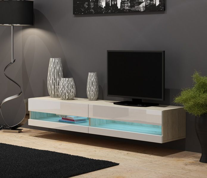 Seattle 35 Fernsehtisch Tv Console Table Living Room Wall Units Contemporary Living Room Furniture