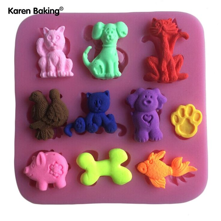 Many Kinds Animal, Cat, Bird, Pig, Fish Shape Silicone 3D Mold Cookware Dining Bar Non-Stick Cake Decorating Fondant Mould  C210 //Price: $4.95 & FREE Shipping //     #hashtag2