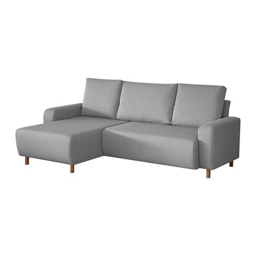 delsbo 2er sofa mit r camiere knisa hellgrau chaise longue met and link. Black Bedroom Furniture Sets. Home Design Ideas