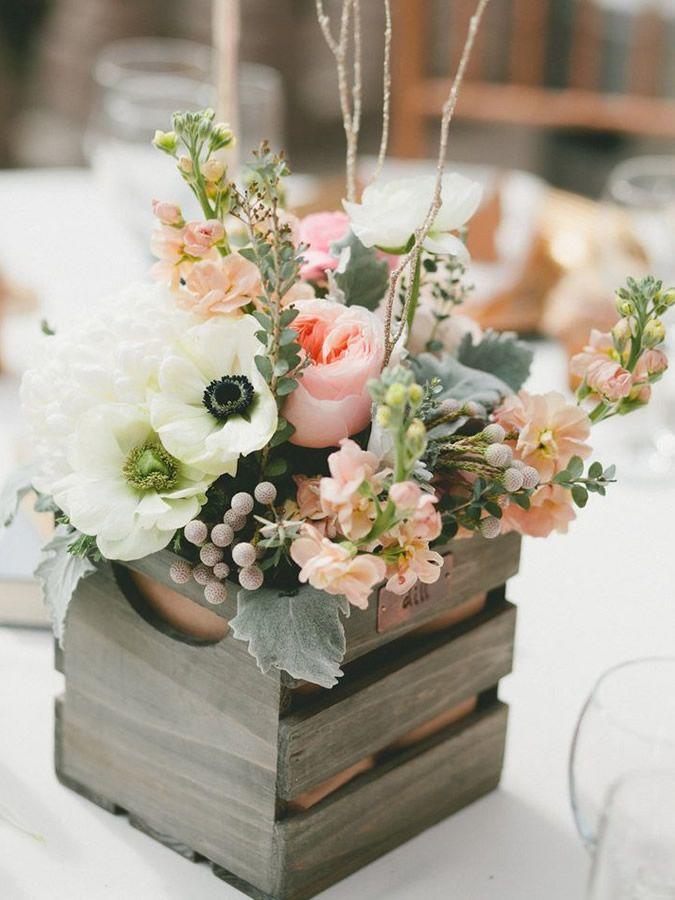 17 mejores ideas sobre centros de mesa para banquetes en - Mesas de centro con cajones ...