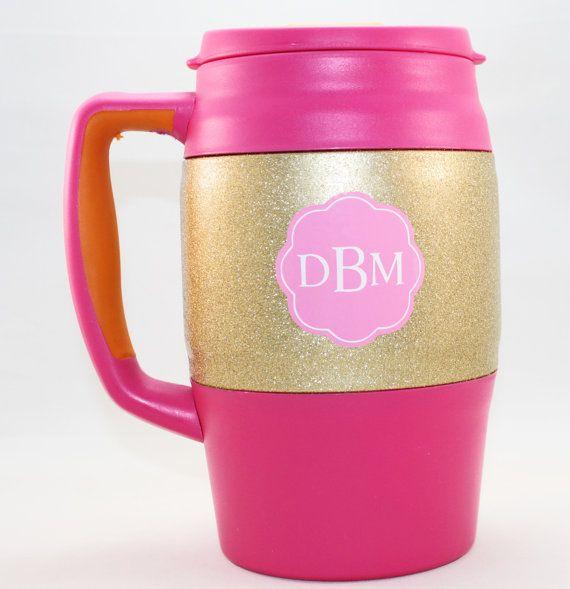 Monogrammed Bubba Keg Bubba Mug Personalized by BeeDoodleCreations
