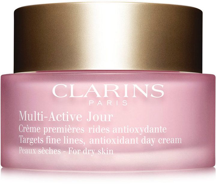 Clarins Multi-Active Day Cream, with re-designed packaging for Spring 2016