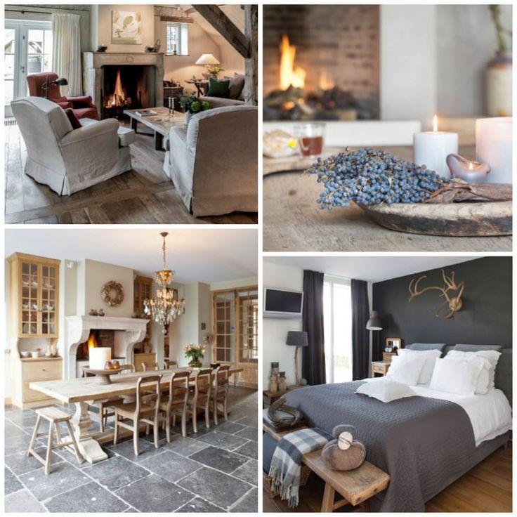25 beste idee n over landelijke stijl slaapkamers op for Franse stijl interieur