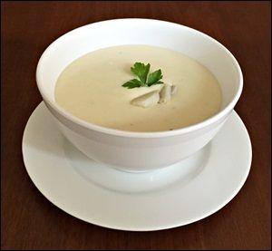 Sopa Cremosa de Inhame
