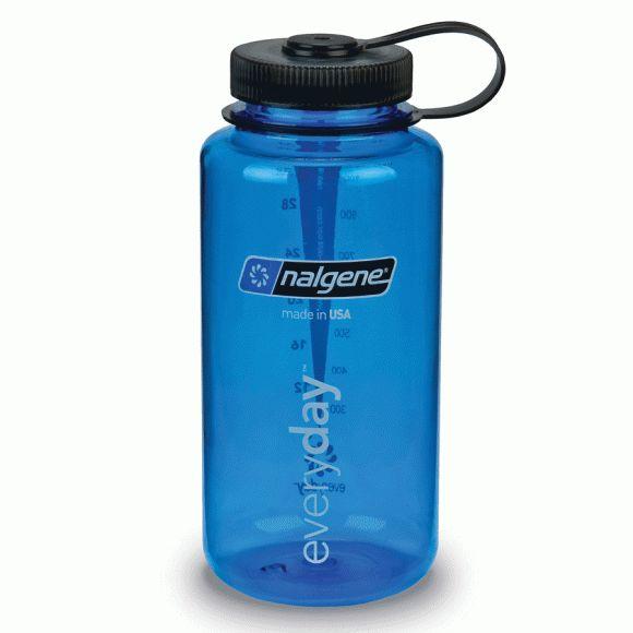 Outdoorudstyr - kæmpe udvalg til fantastiske priser hos Naturligvis - KØKKENGREJ - Nalgene - Nalgene flaske Wide Mouth Bottle Tritan 1 l