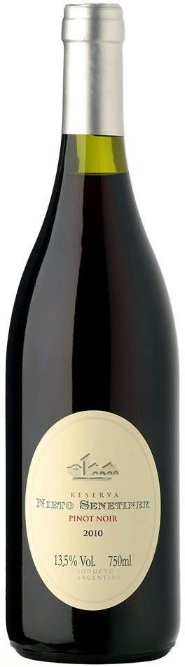 """""""Nieto Senetiner"""" Pinot Noir 2012 - Bodega Nieto Senetiner, Luján de Cuyo, Mendoza--------- Terroir: Agrelo-------------------------- Sin paso por madera"""
