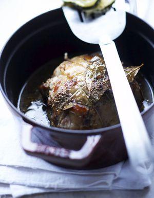 Selle d'agneau, gratin de courgettes pour 6 personnes - Recettes Elle à Table