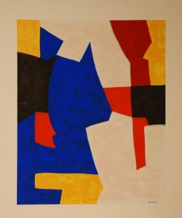 Sérigraphie - Serge Poliakoff - Composition 1966