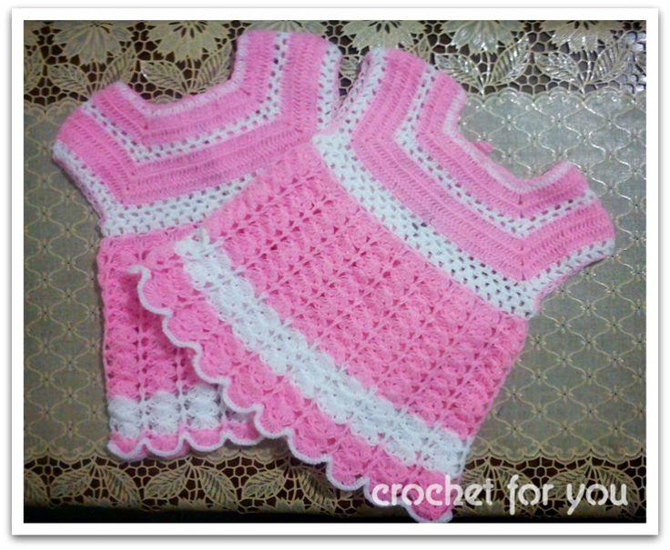 254 Best Crochet Dresses Images On Pinterest Crochet Dresses