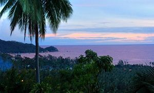 View over Koh Tao