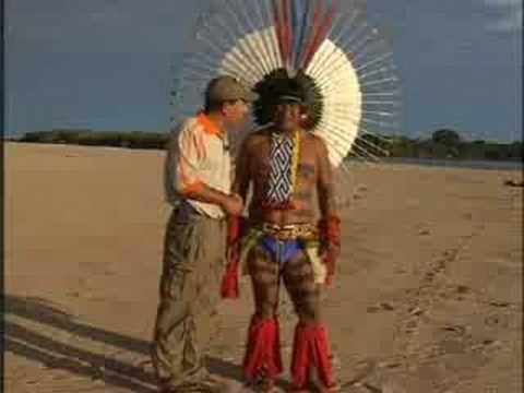 Programa Planeta Turismo - Índios Carajas dançando