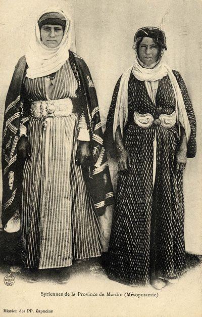 Aramäische Christinnen aus Mardin, 1905