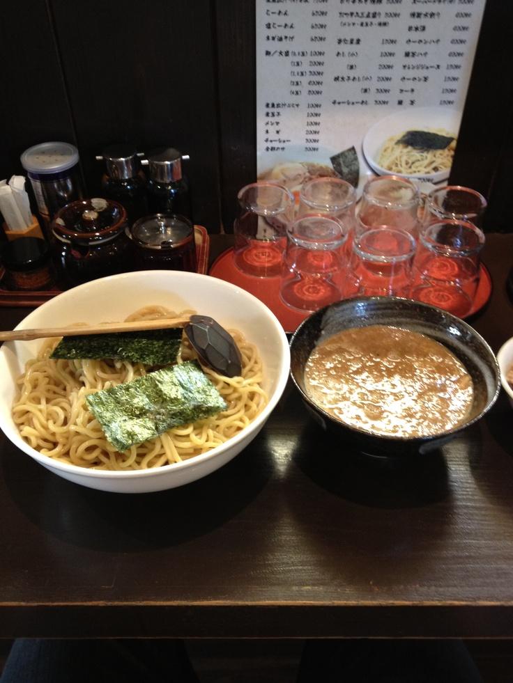 煮魚出汁つけ麺@美豚 高幡不動