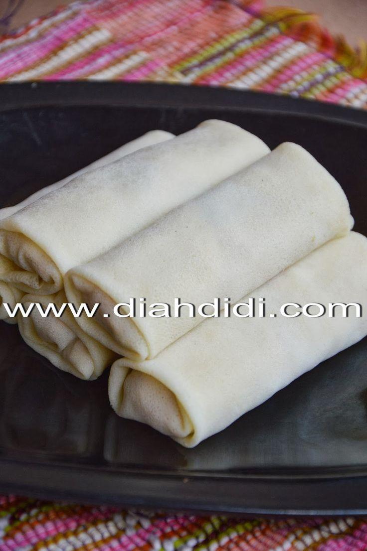Sejak aku posting resep lumpia Semarang dan cara membuat kulitnya dulu awal2 nge blog..memang lumayan jadi salah satu most popular recip...
