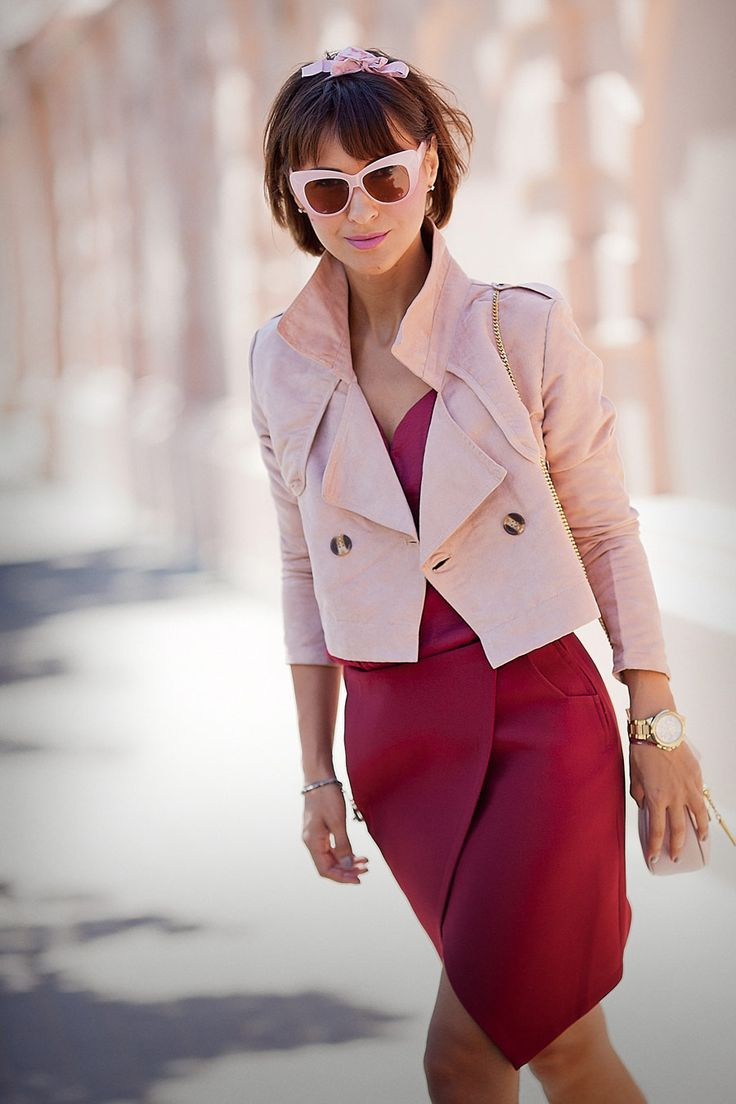 cropped trench, choies jacket,
