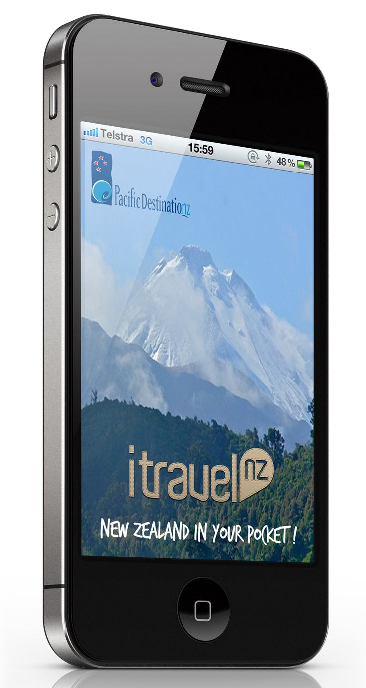 itravelNZ travel app May 2012 update - continuing to lead app functionality.