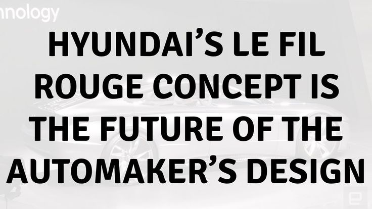 Daily Tech News - Hyundai's Le Fil Rouge concept is the future of the automaker's design #car #technology #Hyundai #LeFilRouge #concept #future #automaker #design