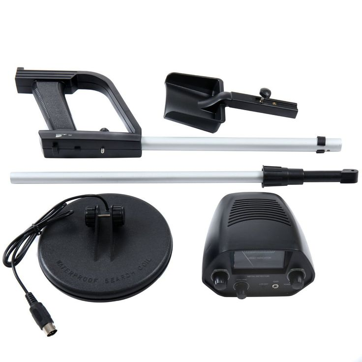 """Amazon.com : SKEMiDEX---Waterproof Metal Detector Deep Sensitive Search Gold Digger Hunter 6.5"""" MD-4030. Professional Metal Detector Which Can Be Used To Locate Valuable Metal : Garden & Outdoor"""