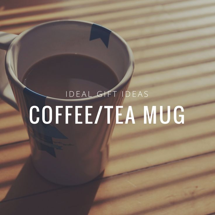 Do you know someone who doesn't drink coffee or tea? I don't. Everybody does it. And that makes a mug a great gift! The ones with funny signs and inscriptions are the best! http://bit.ly/2rdmVgL