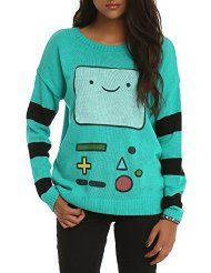 Hot Topic Sweaters for Girls | Does anyone want matching BMO sweaters?