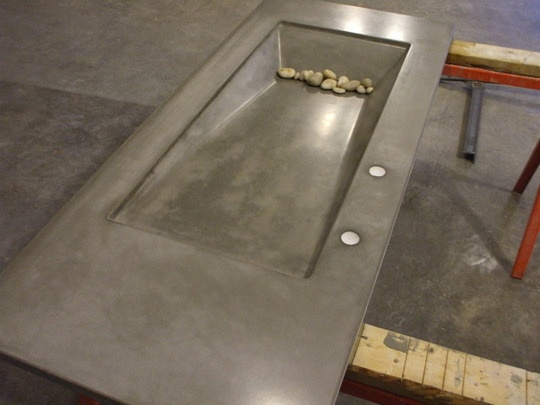 Kinda like this concrete sink
