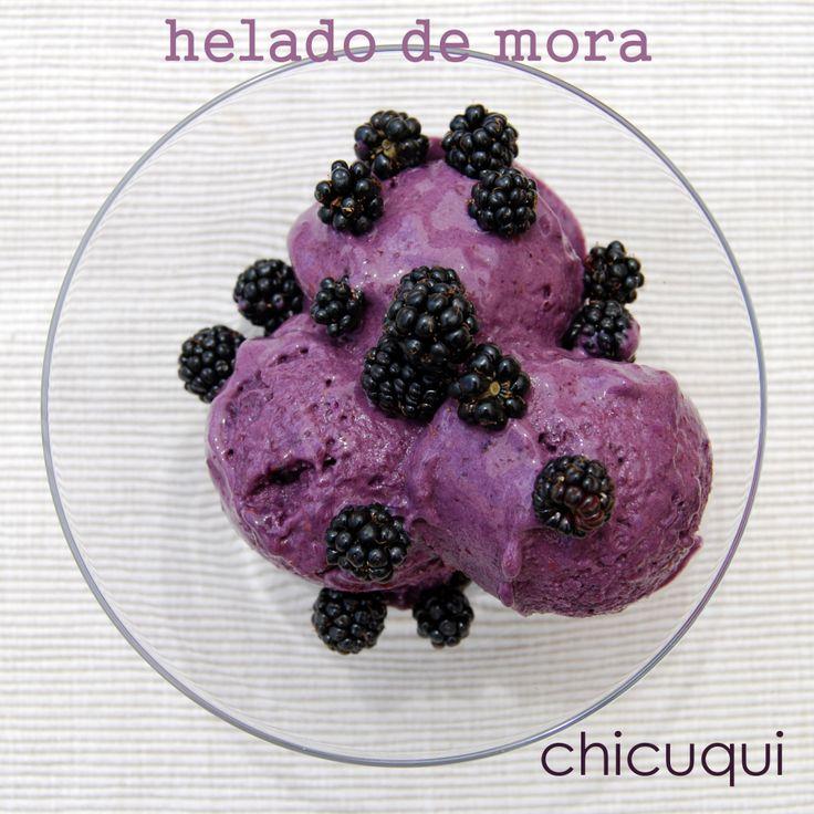 helado de mora en  galletas decoradas chicuqui.com